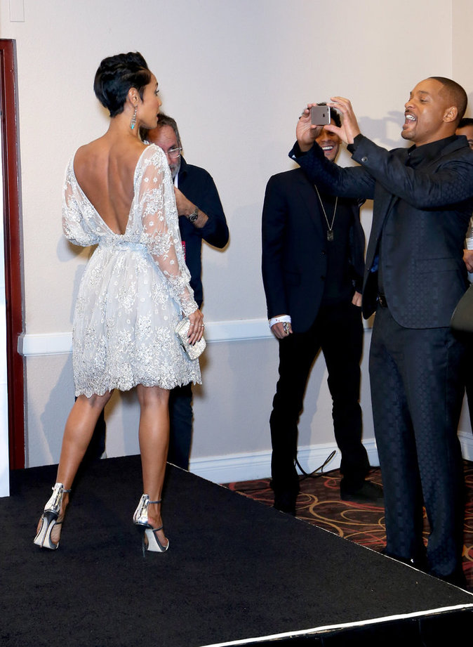Jada Pinkett et Will Smith le 19 novembre 2015