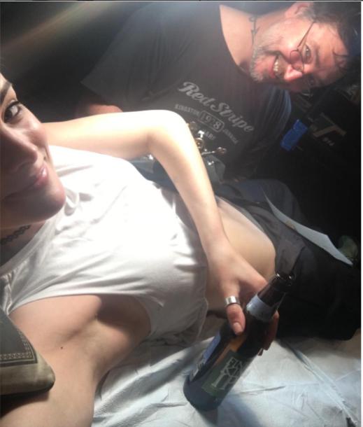 Jaimie Alexander : Découvrez le tatouage de l'actrice de Thor!