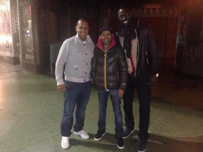 Jamel, son frère Karim et Omar Sy !