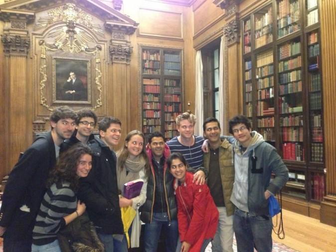 Rencontre avec les élèves francophones d'Harvard !