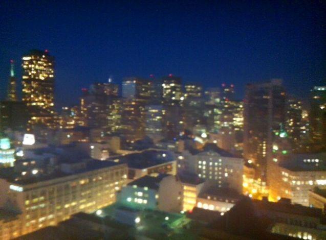 San Francisco de nuit...