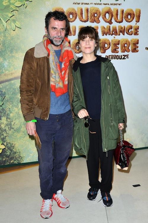 Marina Foïs et Eric Lartigau à la première de Pourquoi j'ai pas mangé mon père à Paris, le 29 mars 2015