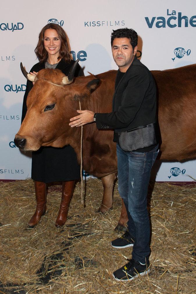 Photos : Jamel Debbouze et Mélissa Theuriau : la vache, ce qu'ils sont mignons !