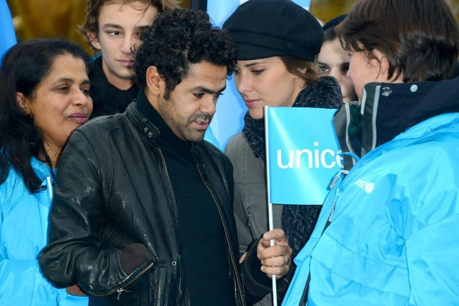 Melissa Theuriau et Jamel Debbouze le 18 novembre 2012 à Paris