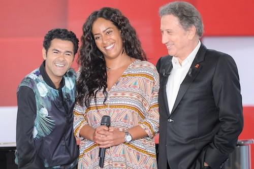 Photos : Jamel Debbouze : la joie de vivre avec Mélissa Theuriau, Amel Bent, Black M chez Drucker !