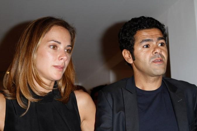 Jamel Debbouze et Mélissa Theuriau à la vente aux enchères en soutien à Florence Cassez le 16 juin 2012