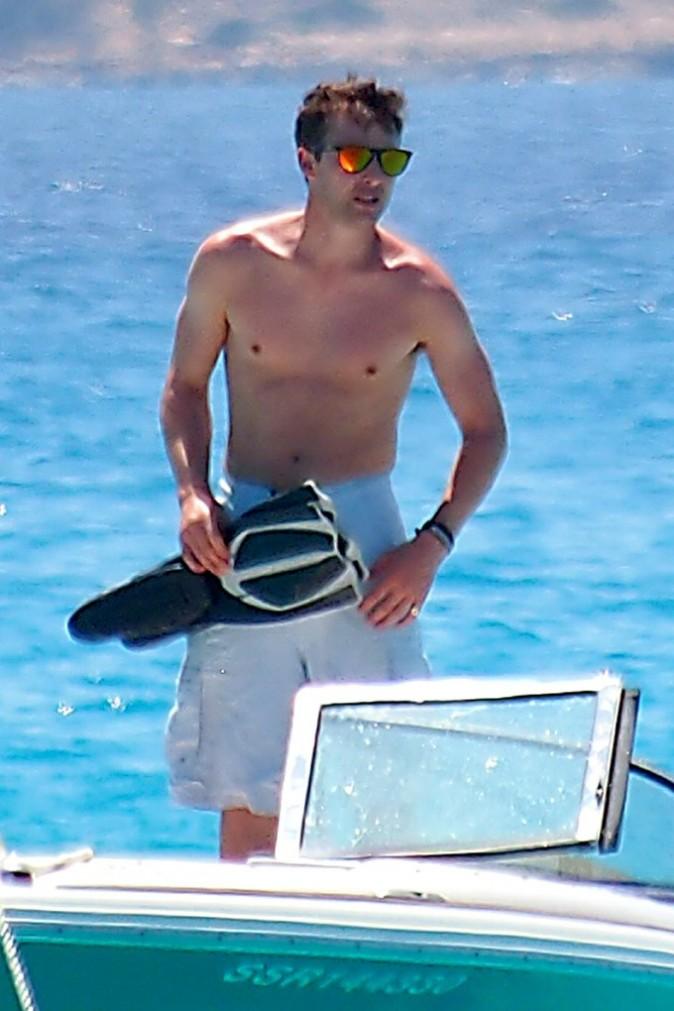 James Blunt en vacances à Ibiza le 27 juin 2013