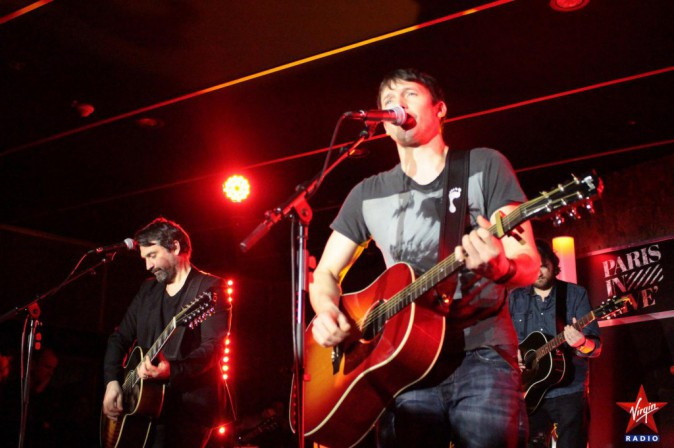 Photos : James Blunt : en showcase, il vend du rêve !