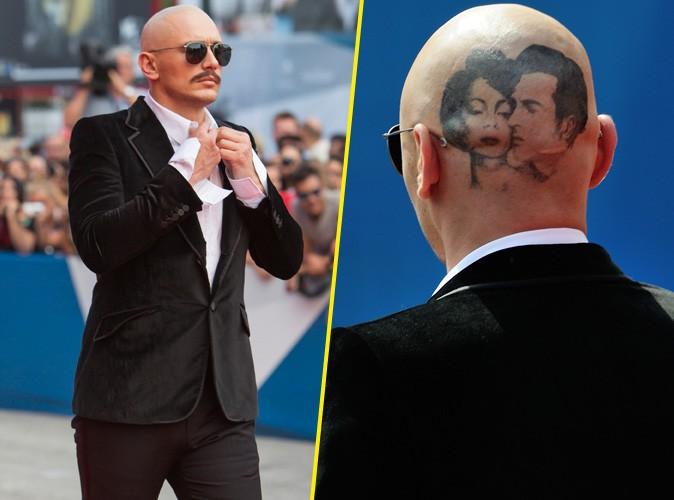 James Franco : énorme tatouage sur son crâne rasé... A-t-il perdu la tête !