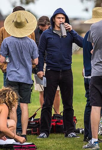 James Franco à Long Island le 15 août 2014