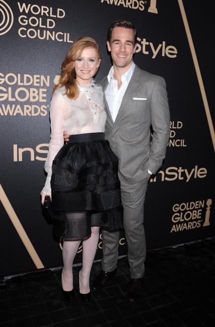 James Van Der Beek et sa femme le 29 novembre à Los Angeles