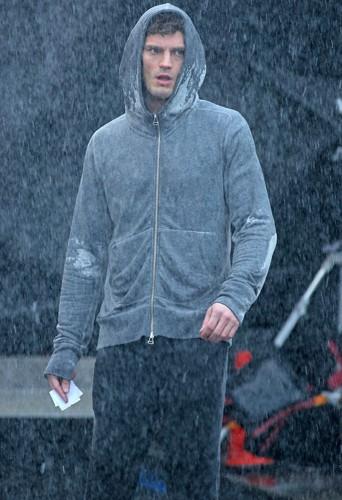 Jamie Dornan à Vancouver le 29 janvier 2014