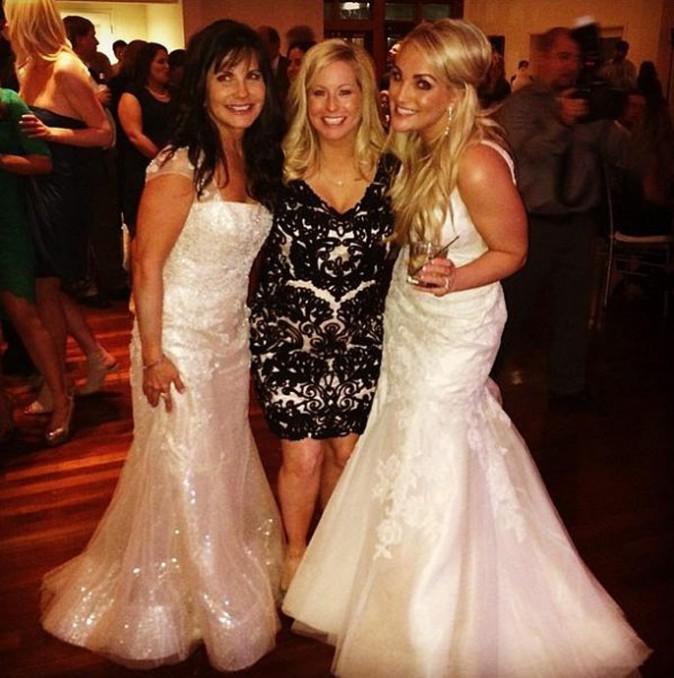Jamie Lynn Spears dans sa robe de mariée et avec sa maman !