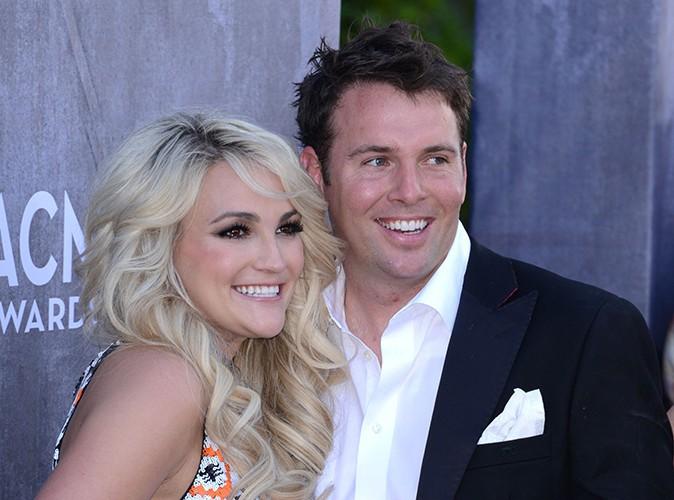 Jamie Lynn Spears et son mari à Las Vegas le 6 avril 2014