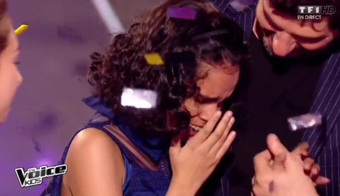 Photos : Jane remporte The Voice Kids 2 !