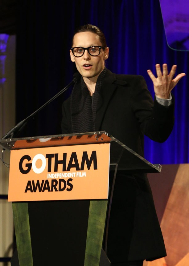 Jared Leto aux Gotham Independent Film Awards 2012 de New-York le 26 novembre 2012