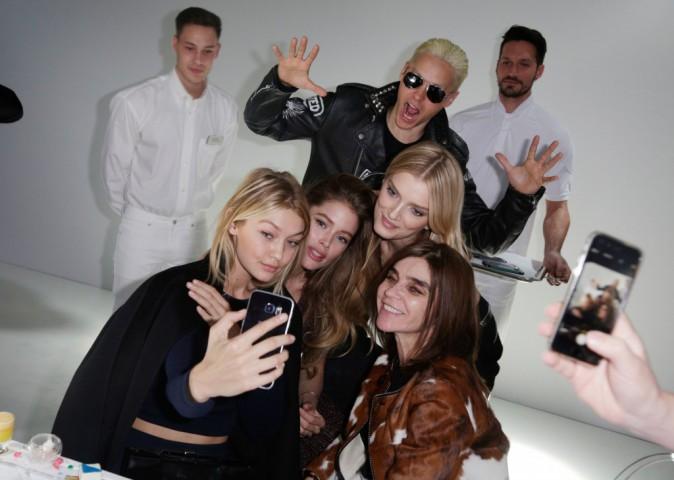 Photos : Jared Leto, Doutzen Kroes, Gigi Hadid... Trio de choc à la Fashion Week de Paris !