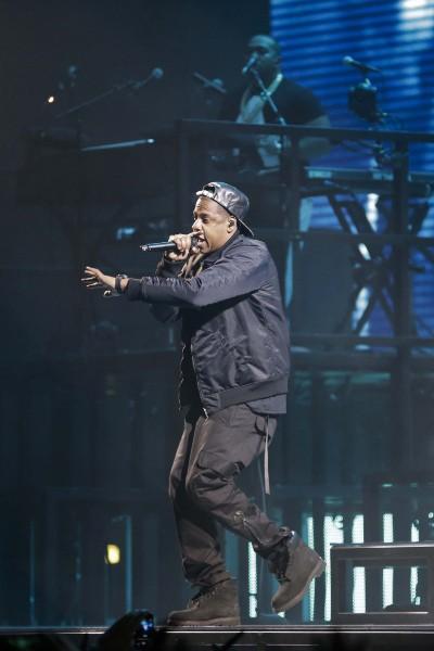Jay-Z en concert à Bercy, le 17 octobre 2013.
