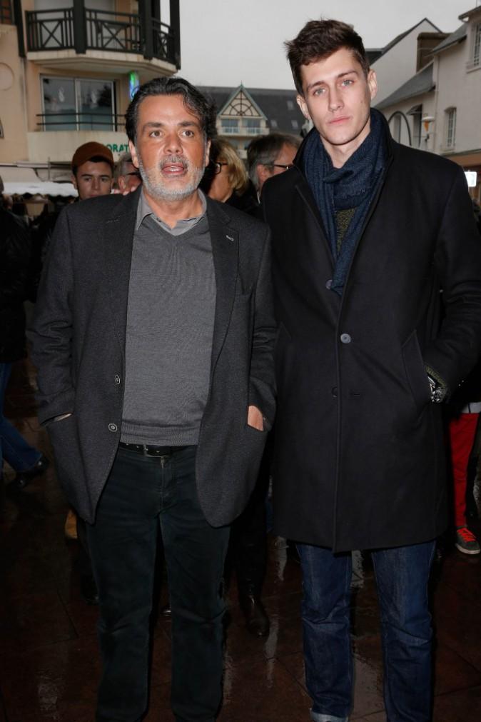 Christophe Barratier et Jean-Baptiste Maunier le 23 novembre 2014