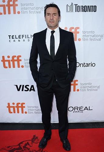 Gilles Lellouche à Toronto le 12 septembre 2014