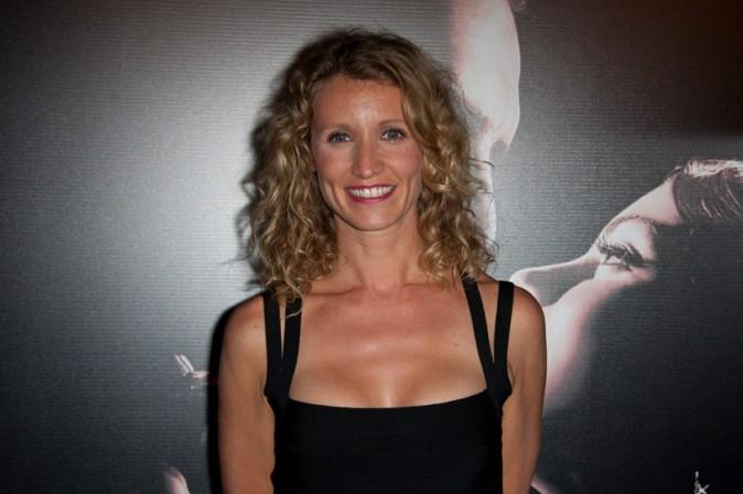 Alexandra Lamy lors de la première de The Artist à Paris, le 28 septembre 2011.