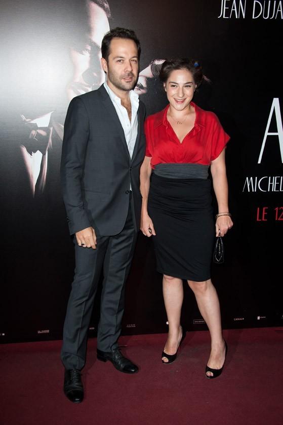 Marilou Berry lors de la première de The Artist à Paris, le 28 septembre 2011.