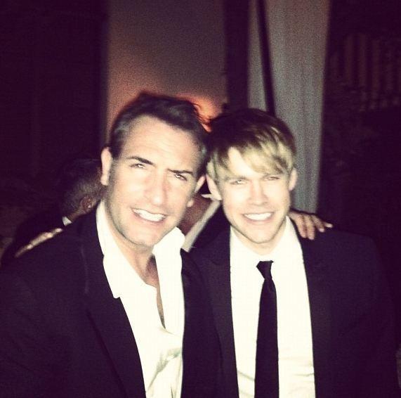Avec Chord Overstreet de Glee, la classe !