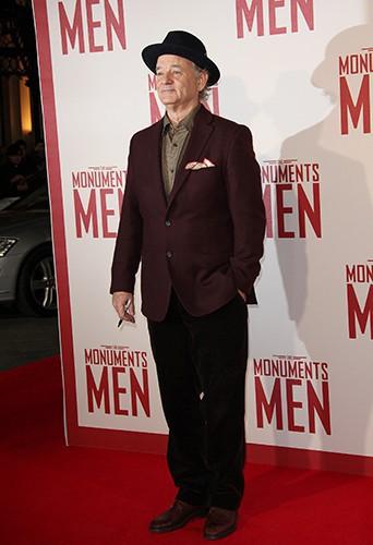 Bill Murray à Londres le 11 février 2014