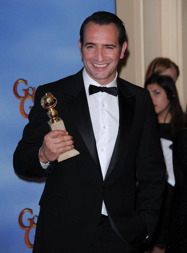 Sacré meilleur acteur aux Golden Globes 2012 !