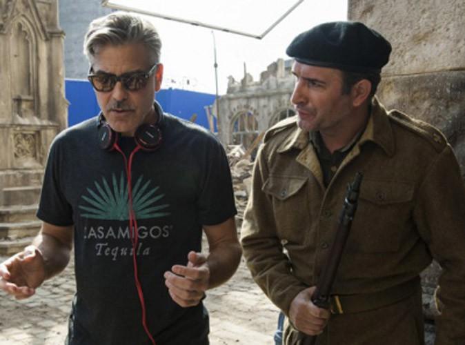 Photos : Jean Dujardin : les premières images du soldat Dujardin pour George Clooney !