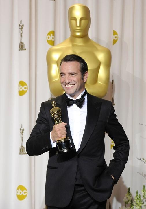 Jean Dujardin a remporté l'Oscar du Meilleur Acteur !