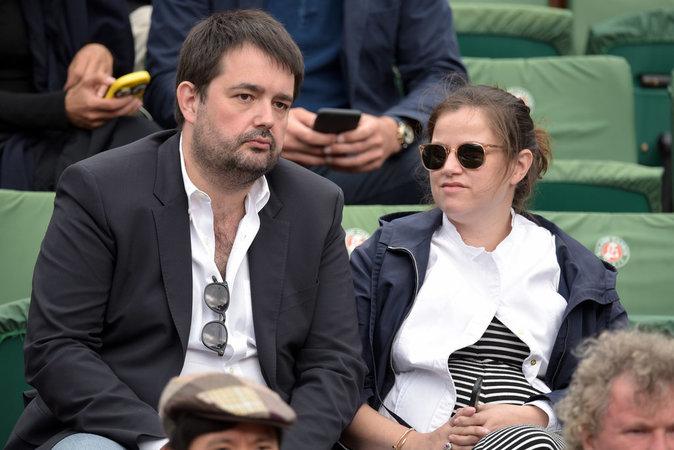 Photos jean fran ois pi ge sa femme elodie d voile une - Francois busnel sa femme ...