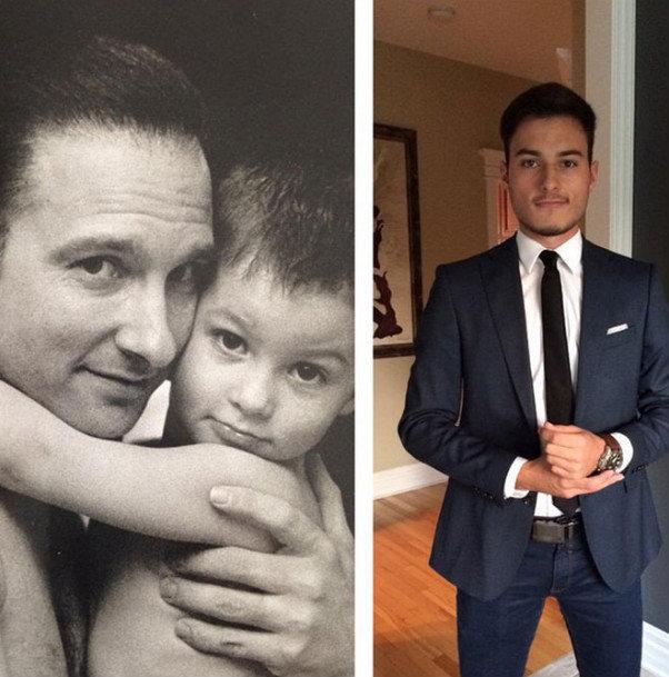 Jean-Marc Généreux a déjà posté quelques photos de son fils