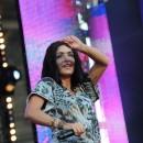 Jenifer au M6 Mobile Music Live le 23 juin 2012 à Issy Les Moulineaux