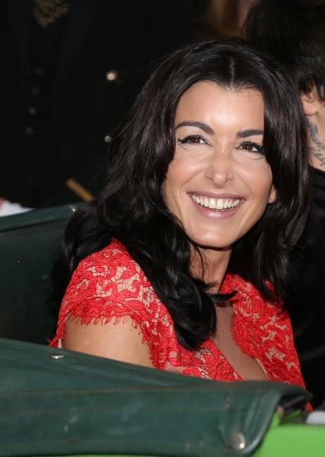 Jenifer le 19 octobre 2012 avant l'enregistrement de l'émission Champs Elysées
