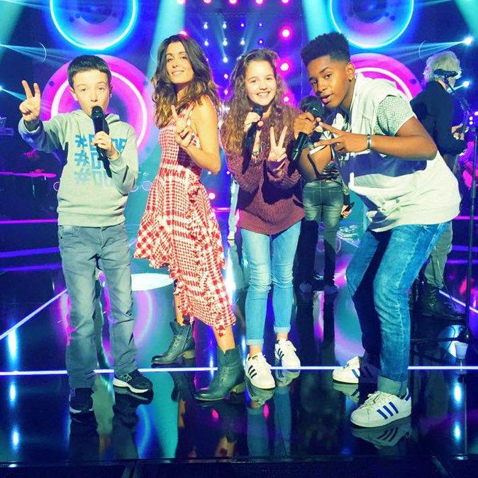 Photos : Jenifer : fière de ses talents et prête pour la finale de The Voice Kids 2 !