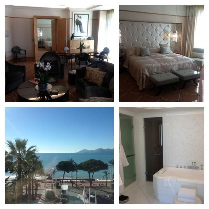 La chambre d'hôtel de M Pokora à Cannes !