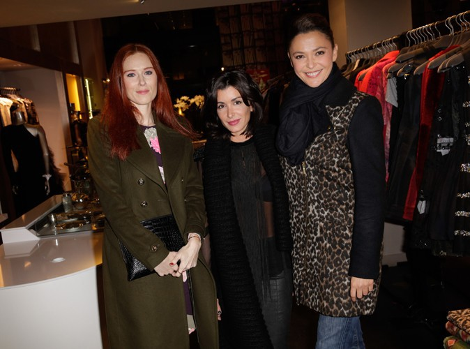 Audrey Fleurot, Jenifer et Sandrine Quétier à Paris le 14 novembre 2013