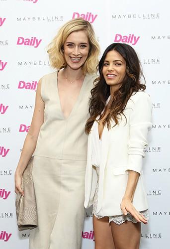 Caitlin Fitzgerald et Jenna Dewan-Tatum à Los Angeles le 25 février 2014