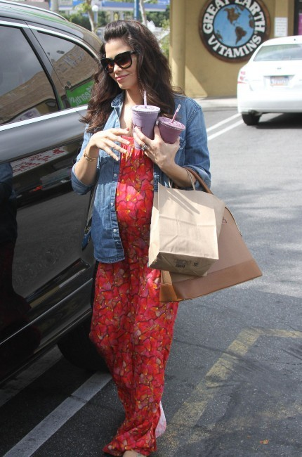 Jenna Dewan, enceinte et épanouie