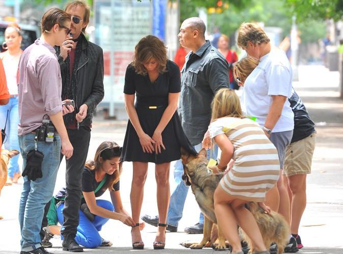 Jennifer Aniston et Rhys Ifans à New-York le 31 juillet 2013