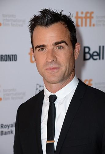 Justin Theroux à Toronto le 8 septembre 2014