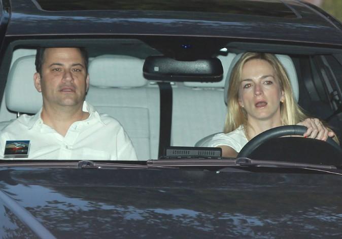 Jimmy Kimmel et Molly McNearney !