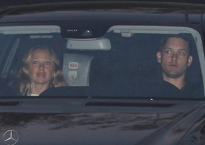 Tobey Maguire et Jennifer Meyer !