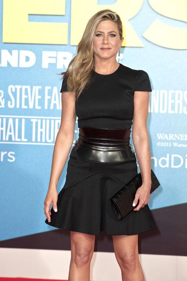 """Jennifer Aniston à l'avant-première des """" Miller, une famille en herbe"""" à Berlin le 15 août 2013"""