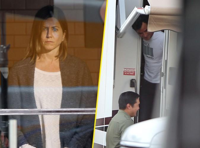 Jennifer Aniston : en plein tournage de son nouveau film, elle peut compter sur le soutien de son fiancé Justin Theroux !