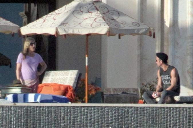 Jennifer Aniston et Justin Theroux le 2 décembre 2013 à Cabo San Lucas