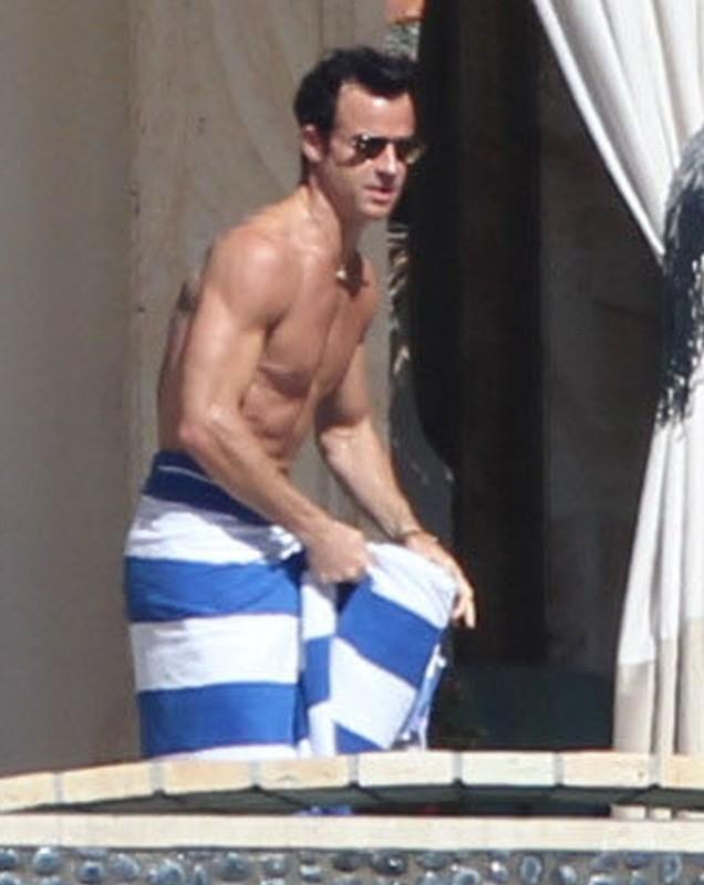 Justin Theroux le 2 décembre 2013 à Cabo San Lucas