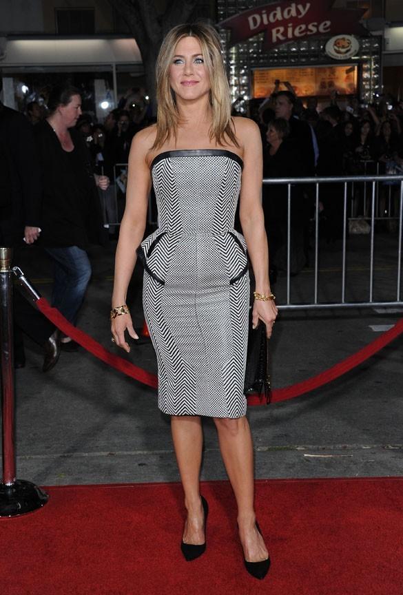 Jennifer Aniston à l'avant-première de Wanderlust hier soir !