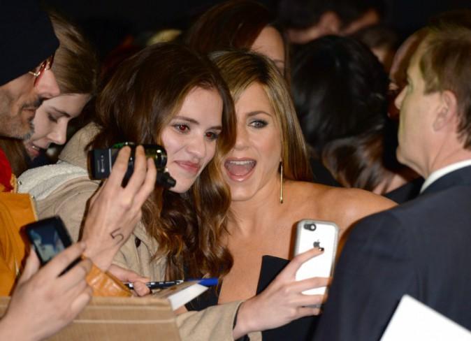 Jennifer Aniston le 11 novembre 2014